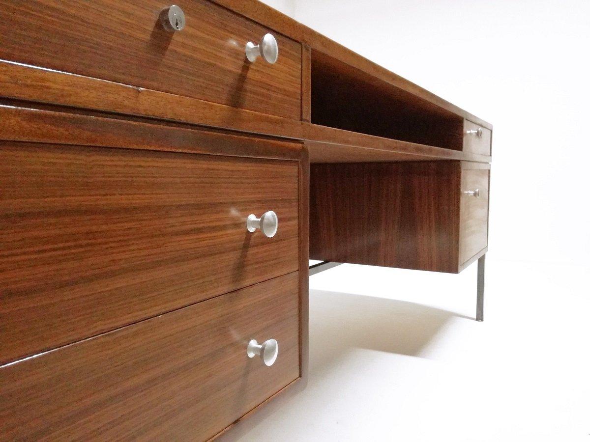 mid century president schreibtisch von joseph andre motte f r dassass bei pamono kaufen. Black Bedroom Furniture Sets. Home Design Ideas