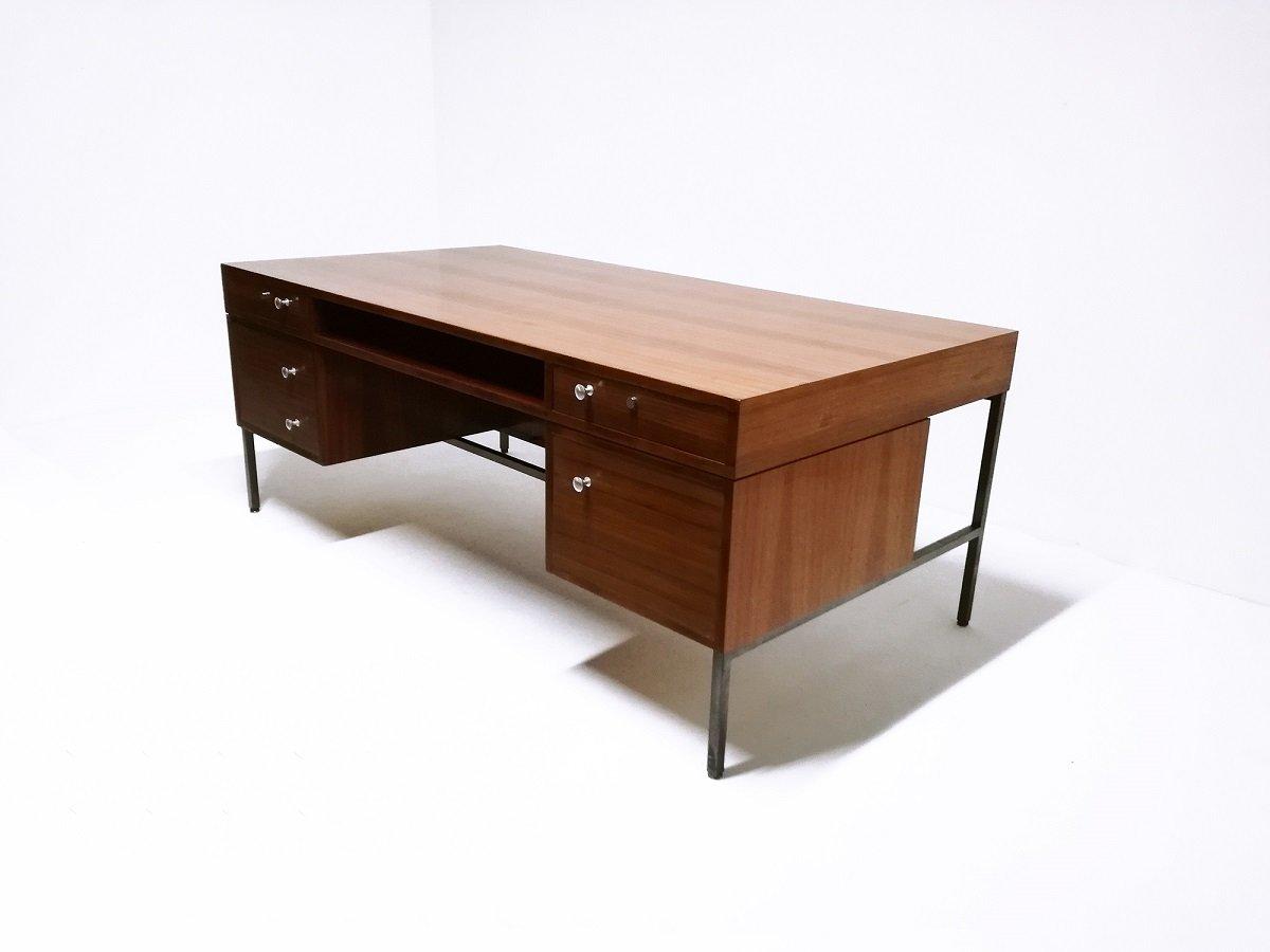 mid century president schreibtisch von joseph andre motte. Black Bedroom Furniture Sets. Home Design Ideas