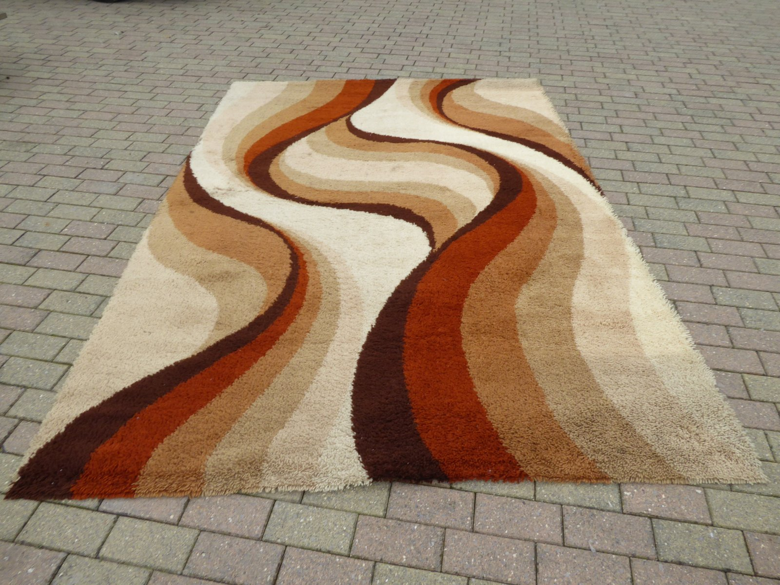 Large Woolen Carpet 1970s For Sale At Pamono