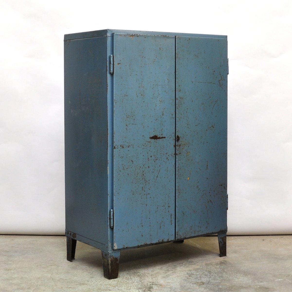 Meuble Industriel Bleu Vintage 1960s En Vente Sur Pamono # Meuble Industriel