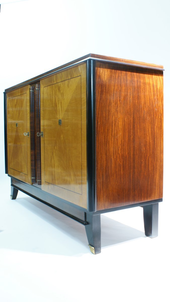 Two toned french art deco sideboard 1940s for sale at pamono for Sideboard 4 meter lang