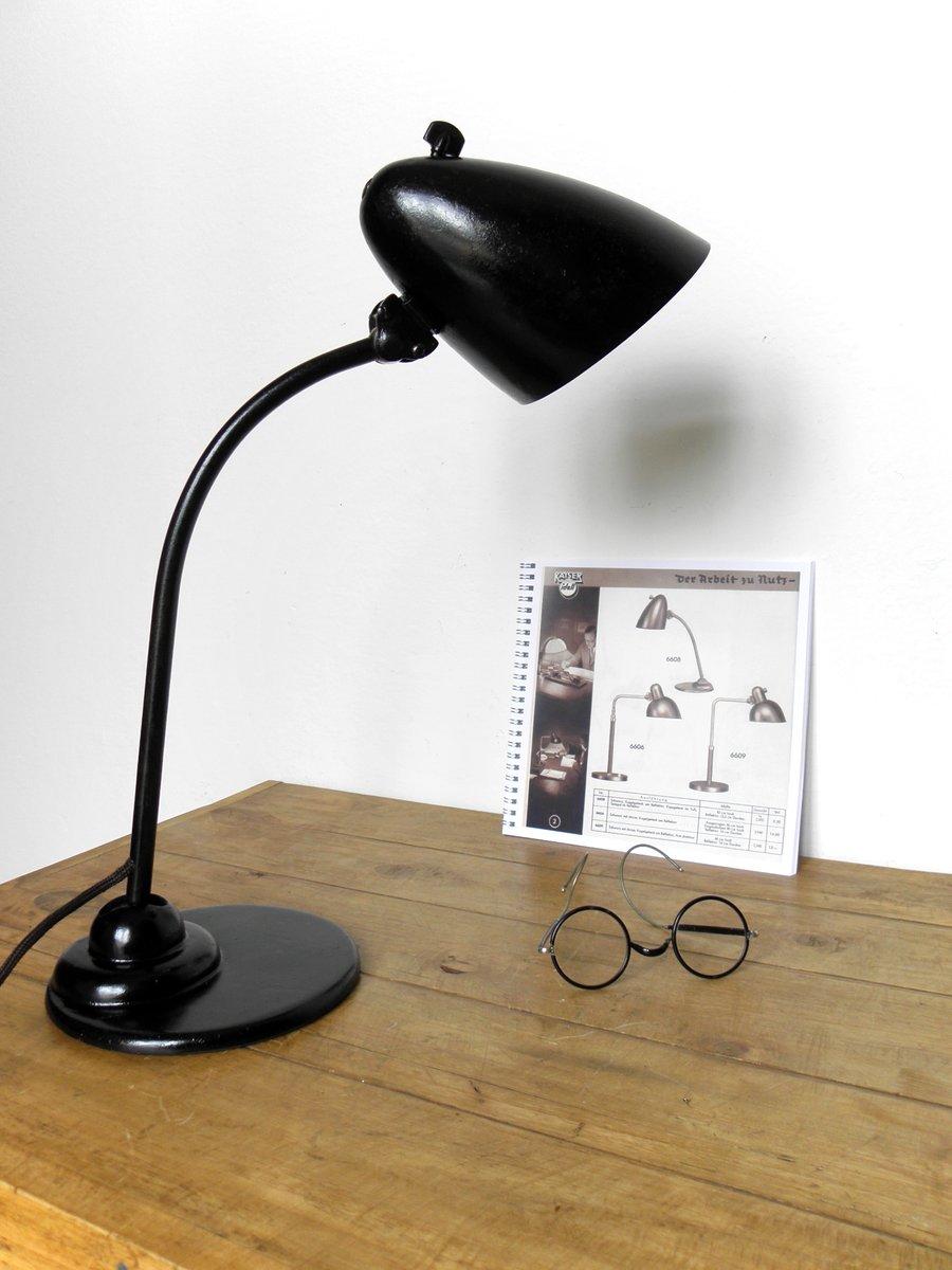 Lampe 6556 bauhaus vintage industrielle par christian dell pour kaiser idell en vente sur pamono - Lampe vintage industrielle ...
