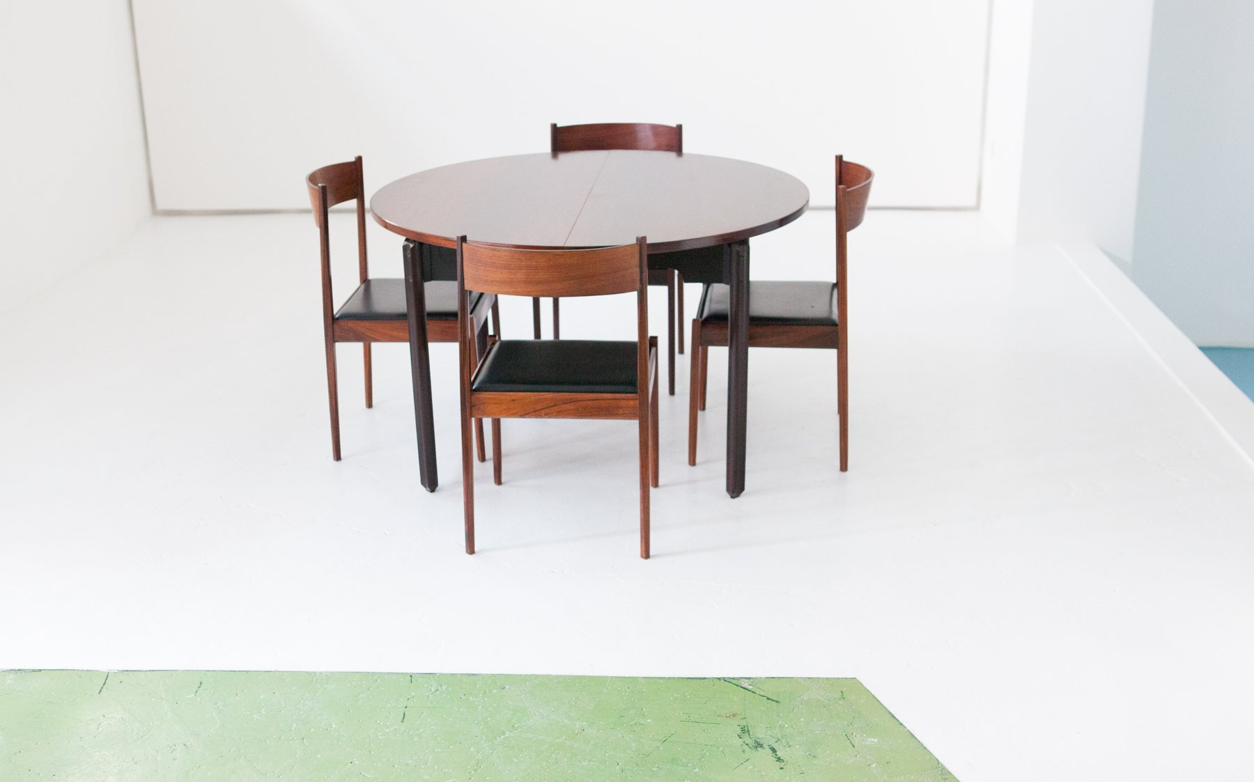 Dining Table U0026 4 Chairs In Rosewood From Stildomus, 1960s