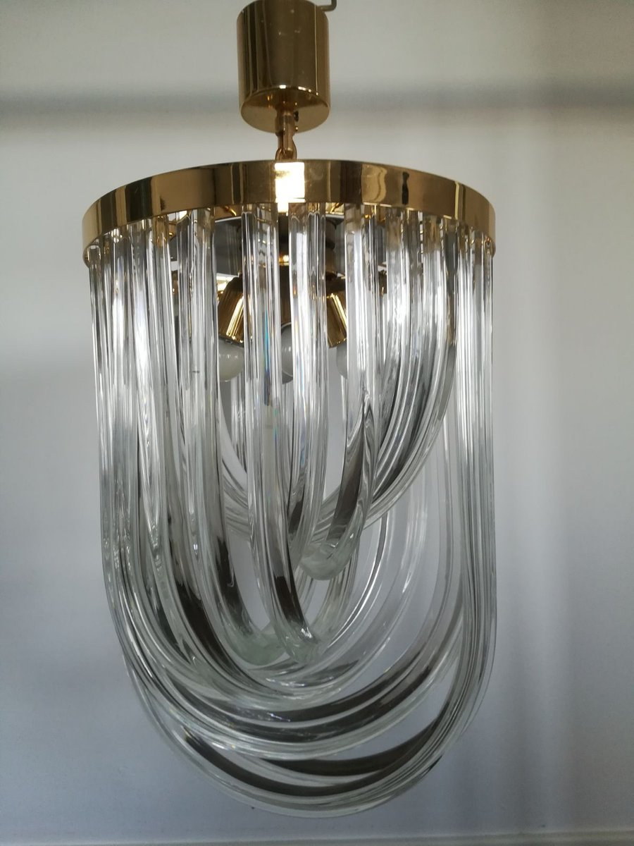 Mid century chandelier by paolo venini for venini 1960s for sale at mid century chandelier by paolo venini for venini 1960s aloadofball Image collections