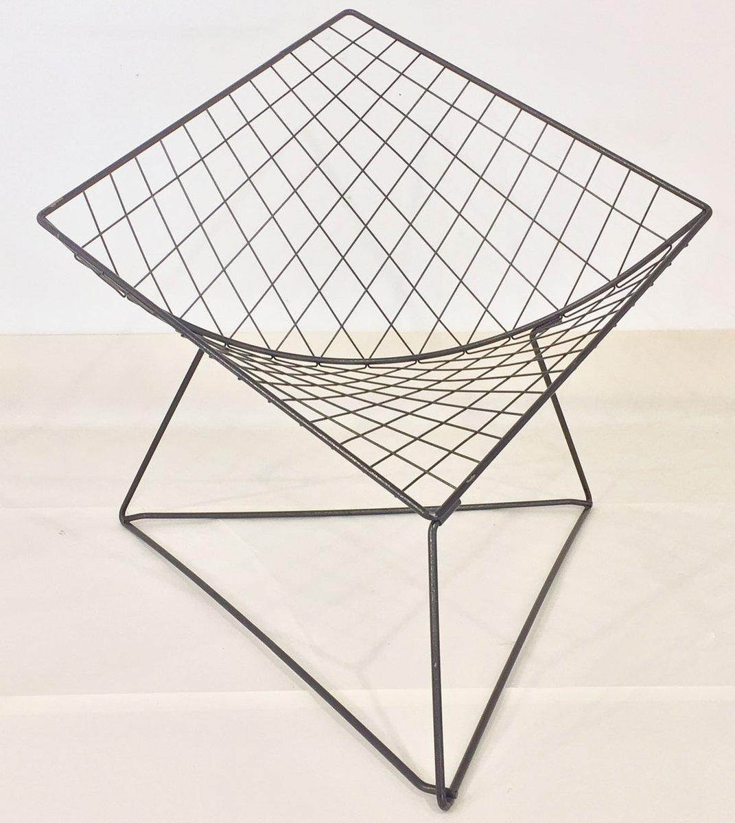 Modell Oti Drahtgeflecht Stühle von Jørgen Gammelgaard für