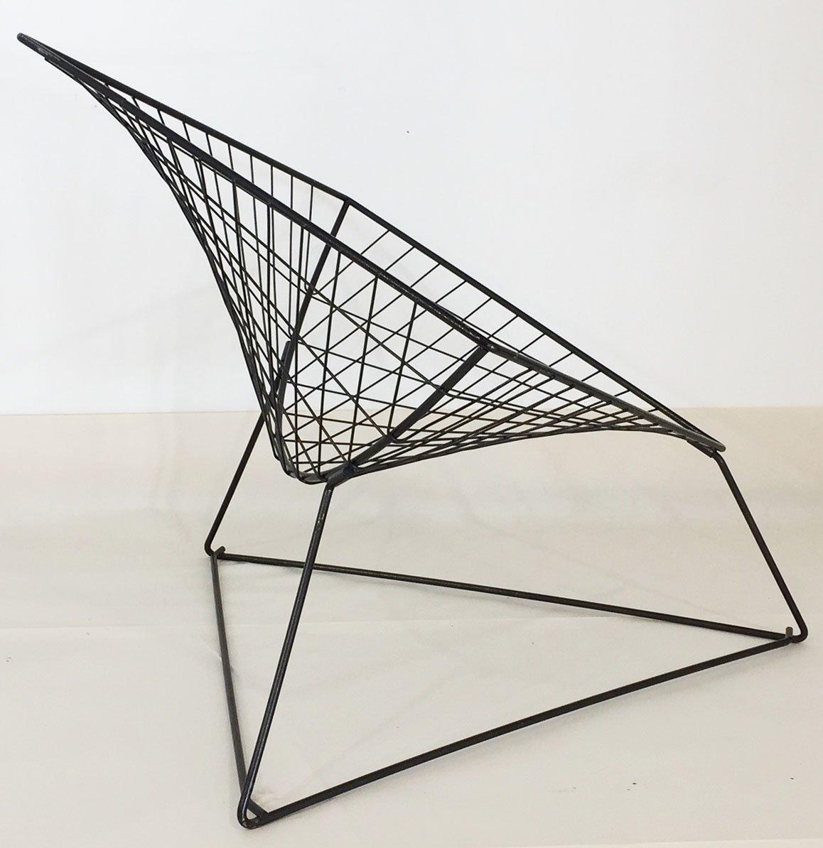 Captivating Model Oti Wire Mesh Chair By Jørgen Gammelgaard For Ikea, 1986