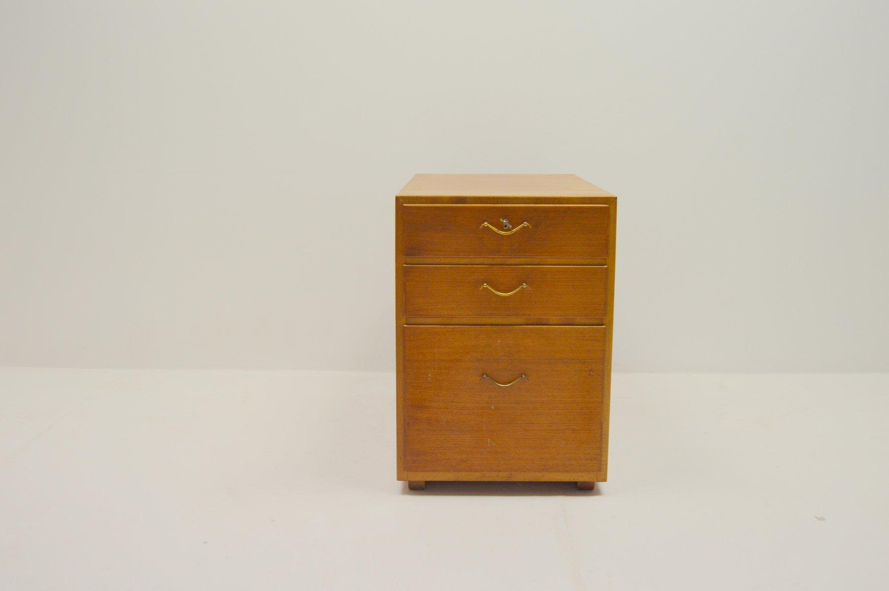 to david s bureau rosen drawers attributed teak pamono for sale desk at