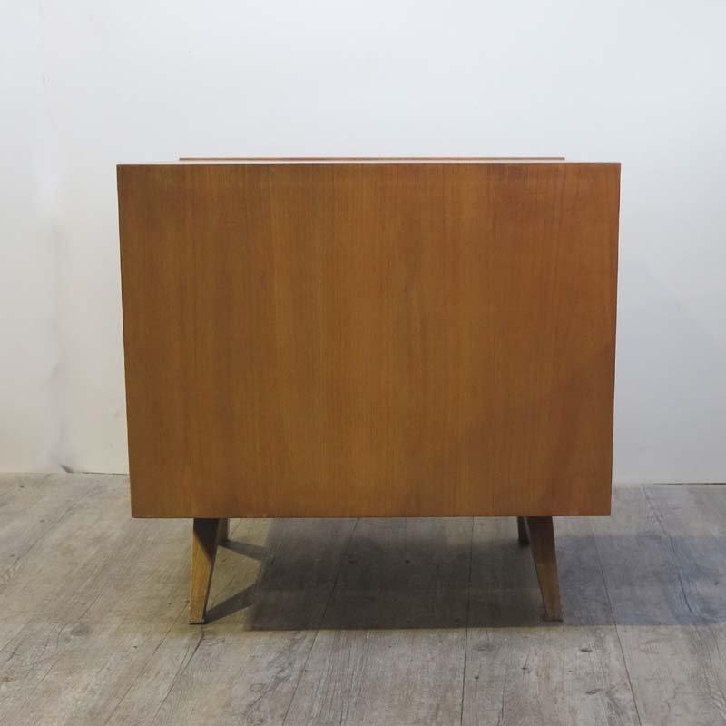 beistelltisch mit schubladen von wk m bel 1950er bei. Black Bedroom Furniture Sets. Home Design Ideas