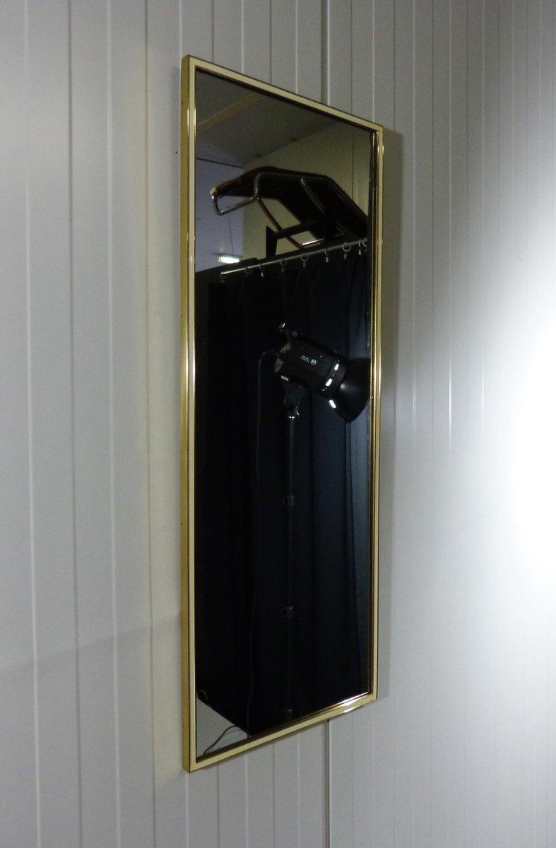 messing spiegel von vereinigte werkstatten munchen 1950er bei pamono kaufen. Black Bedroom Furniture Sets. Home Design Ideas