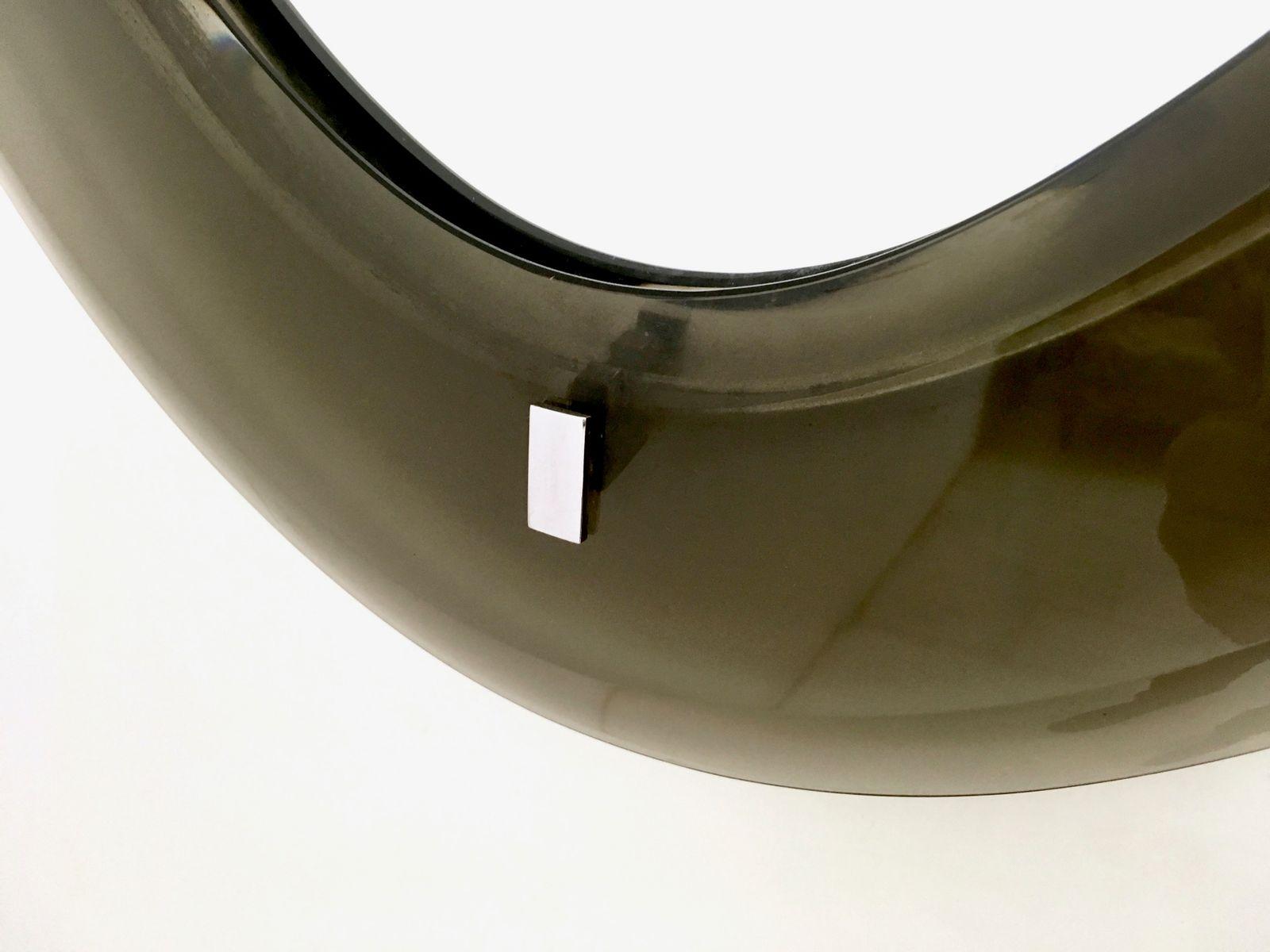 spiegel mit abgeschr gten ecken von fontana arte 1950er bei pamono kaufen. Black Bedroom Furniture Sets. Home Design Ideas