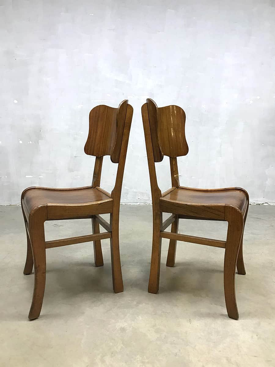 Vintage dining chairs set of 4 4 €599 00