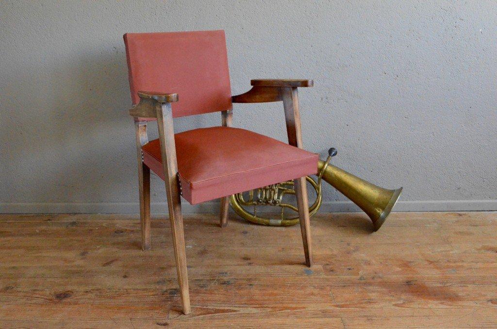 vintage modernist armchair 1940s for sale at pamono. Black Bedroom Furniture Sets. Home Design Ideas