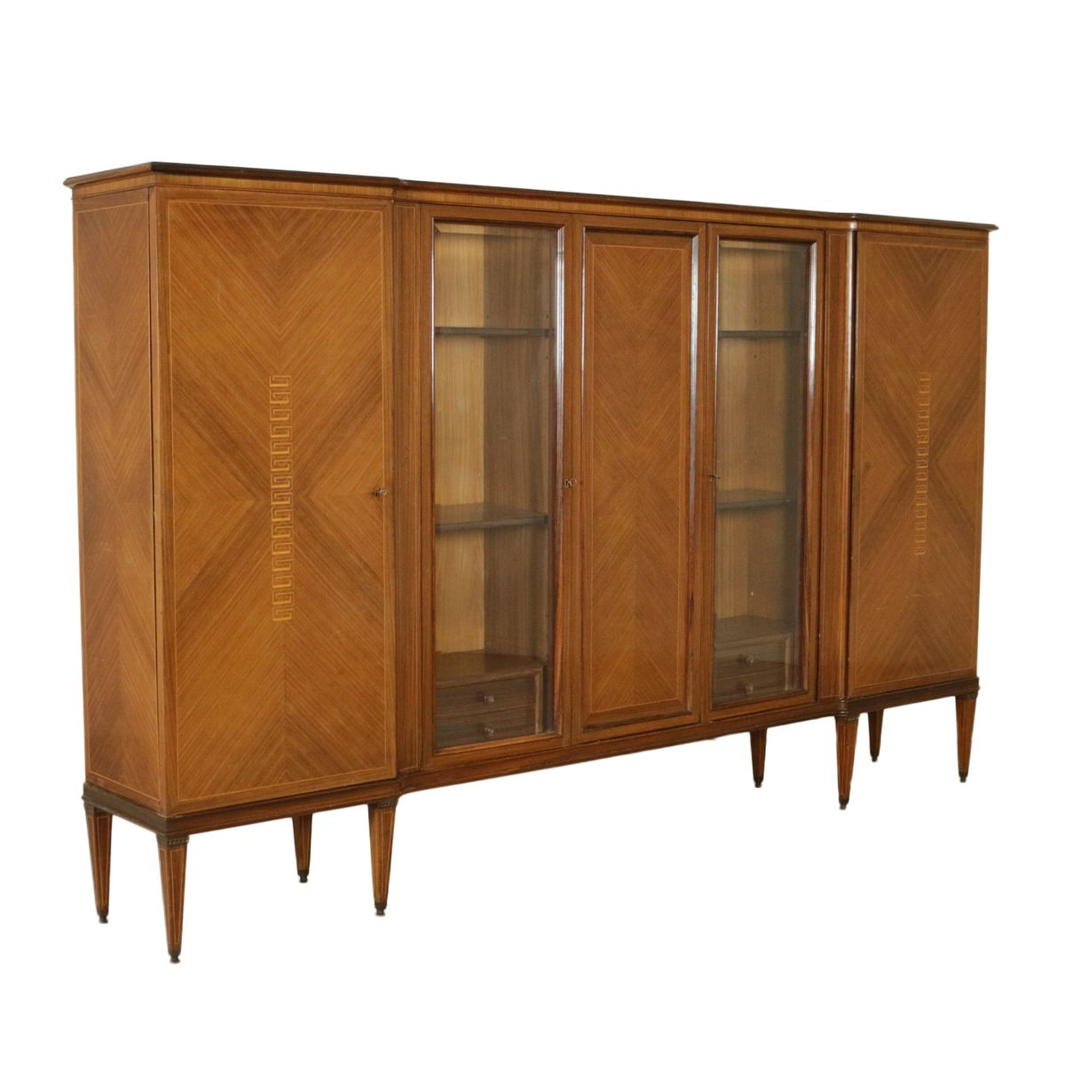 armoire placage de palissandre 1950s en vente sur pamono. Black Bedroom Furniture Sets. Home Design Ideas