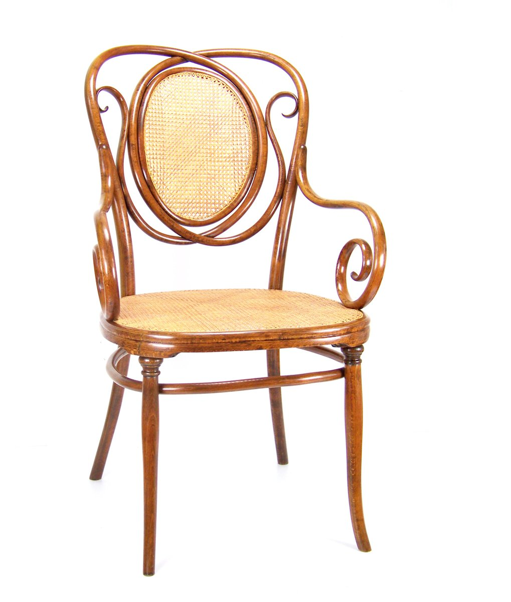 Antique No 22 Armchair From Thonet For Sale At Pamono