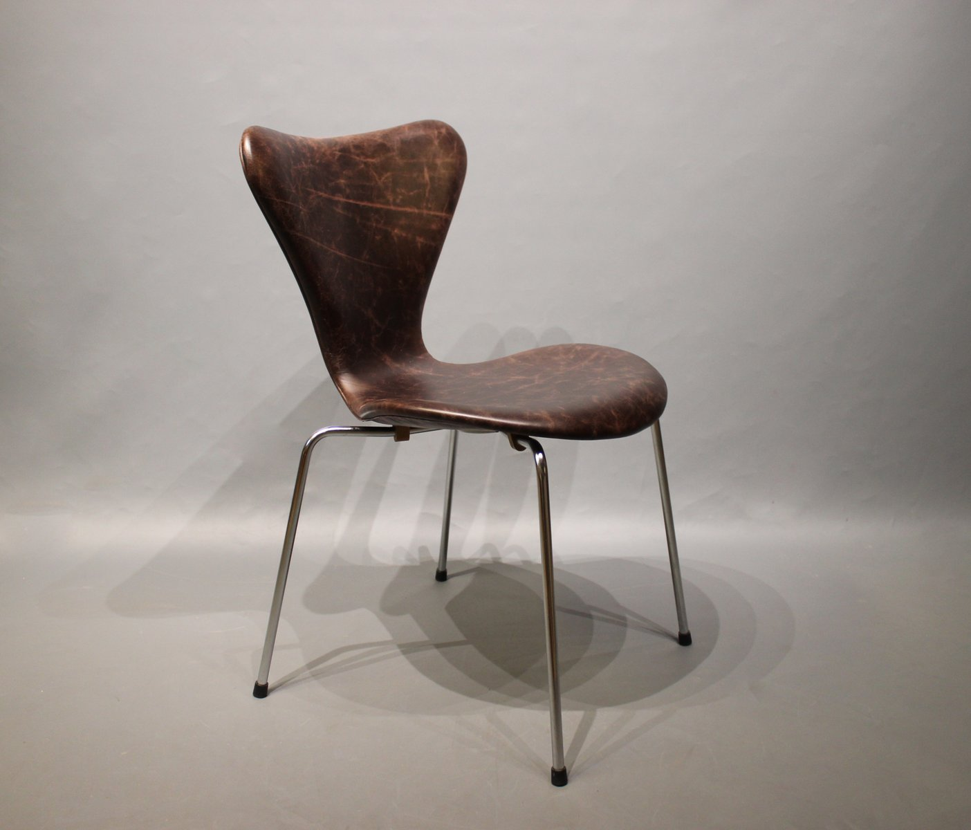 Stuhl Arne Jacobsen model 3107 chair by arne jacobsen from fritz hansen 1967 for sale