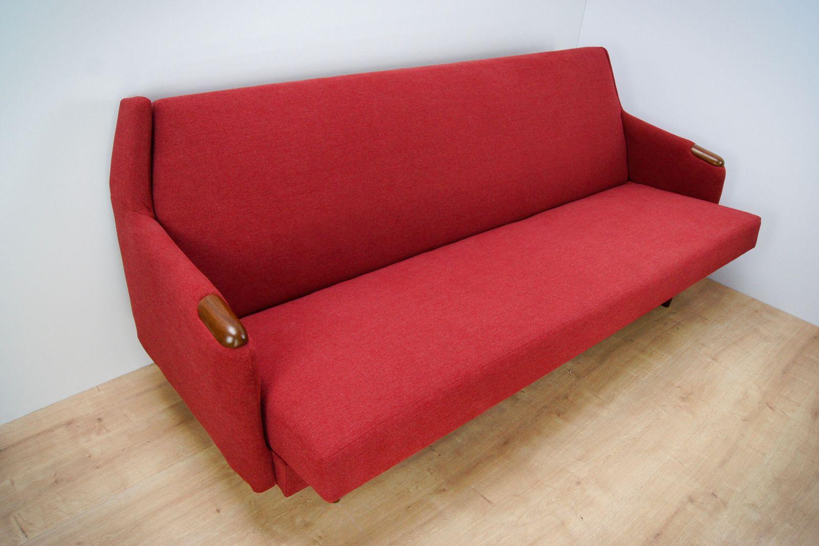 canap en teck danemark 1960s en vente sur pamono. Black Bedroom Furniture Sets. Home Design Ideas