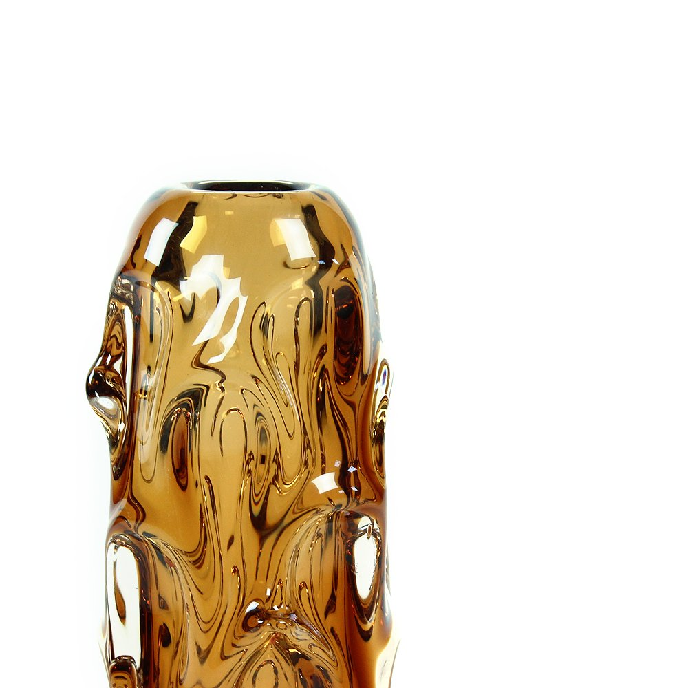 Mid century amber glass vase by jan beranek for glass factory mid century amber glass vase by jan beranek for glass factory krdlovice 1959 floridaeventfo Image collections