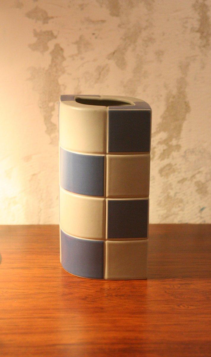 vintage keramik vasen von jan van der vaart f r rosenthal. Black Bedroom Furniture Sets. Home Design Ideas