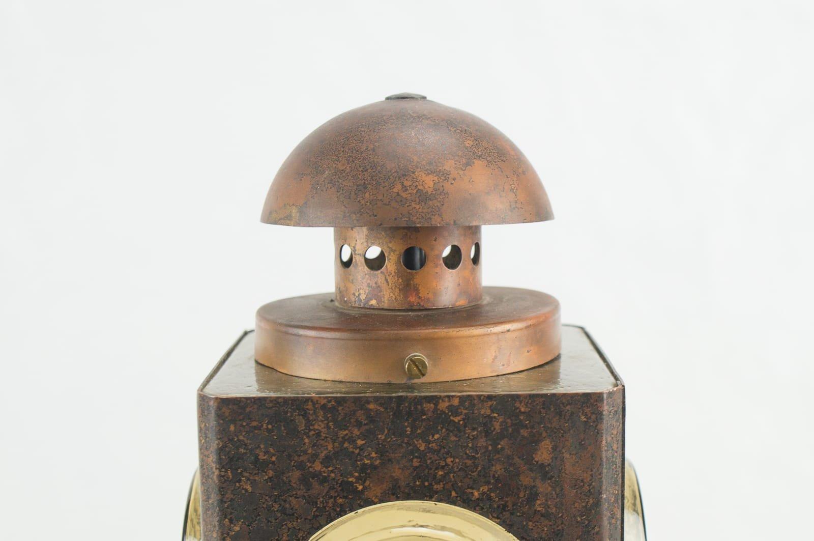 mid century kupfer wandlampe f r au enbereich bei pamono kaufen. Black Bedroom Furniture Sets. Home Design Ideas