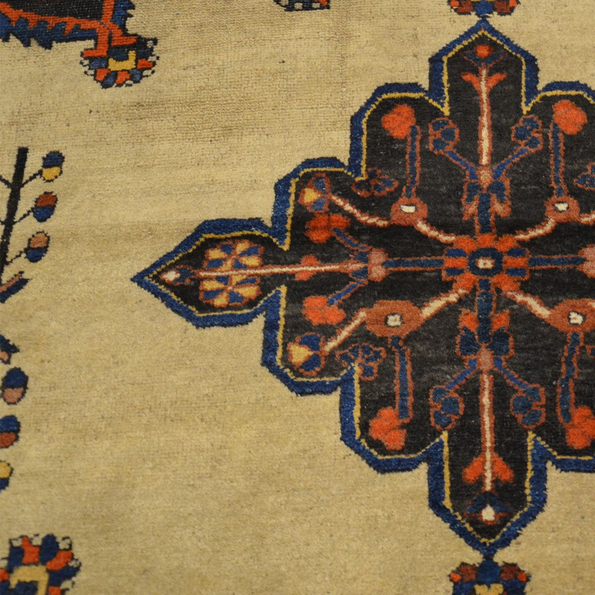 afshar teppich mit rautenmuster 1900er bei pamono kaufen. Black Bedroom Furniture Sets. Home Design Ideas
