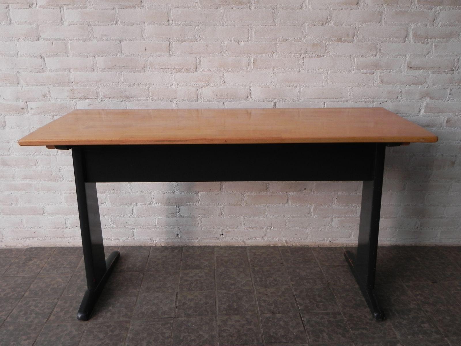 belgischer vintage schreibtisch 1960er bei pamono kaufen. Black Bedroom Furniture Sets. Home Design Ideas