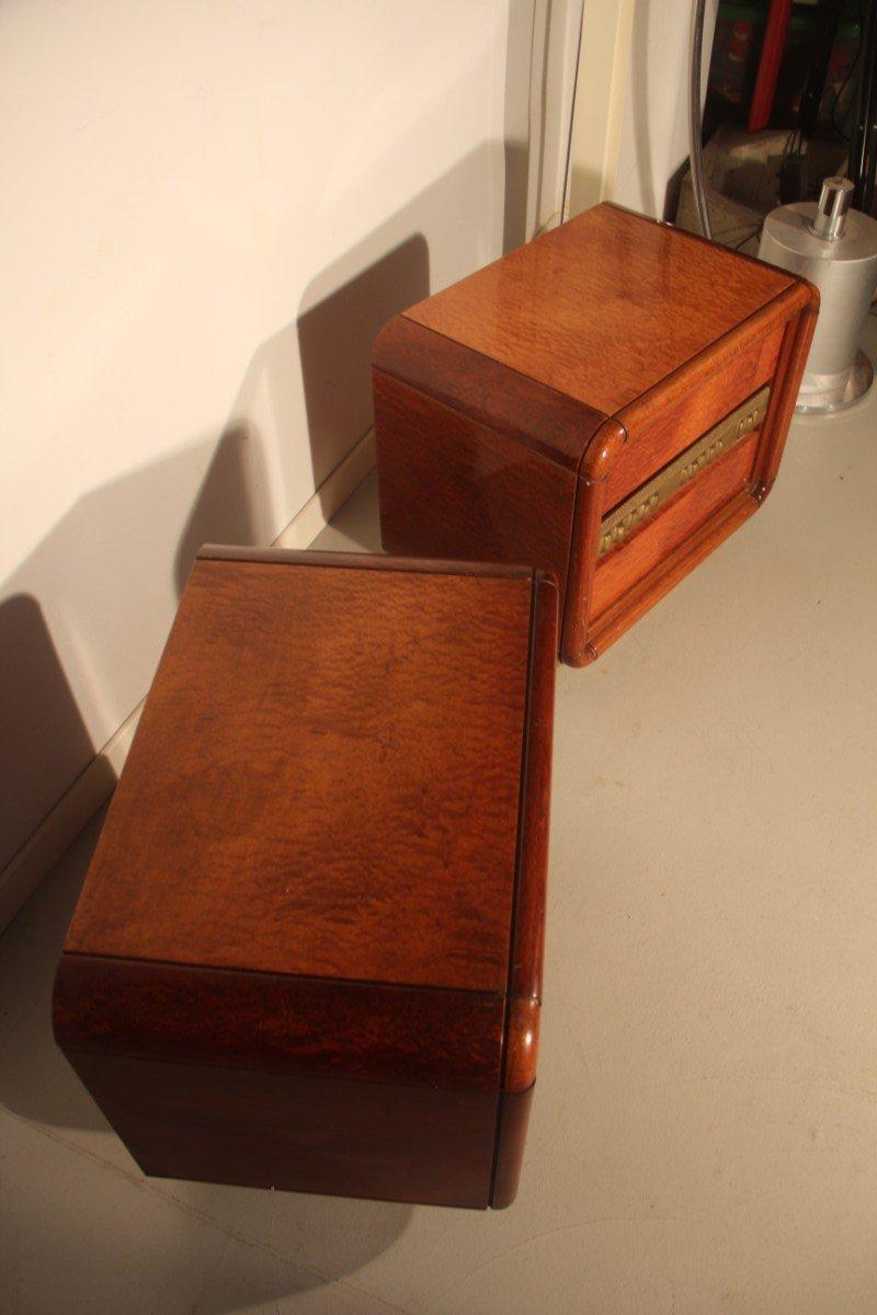 nachttischlampen von luciano frigerio 1970er 2er set bei pamono kaufen. Black Bedroom Furniture Sets. Home Design Ideas