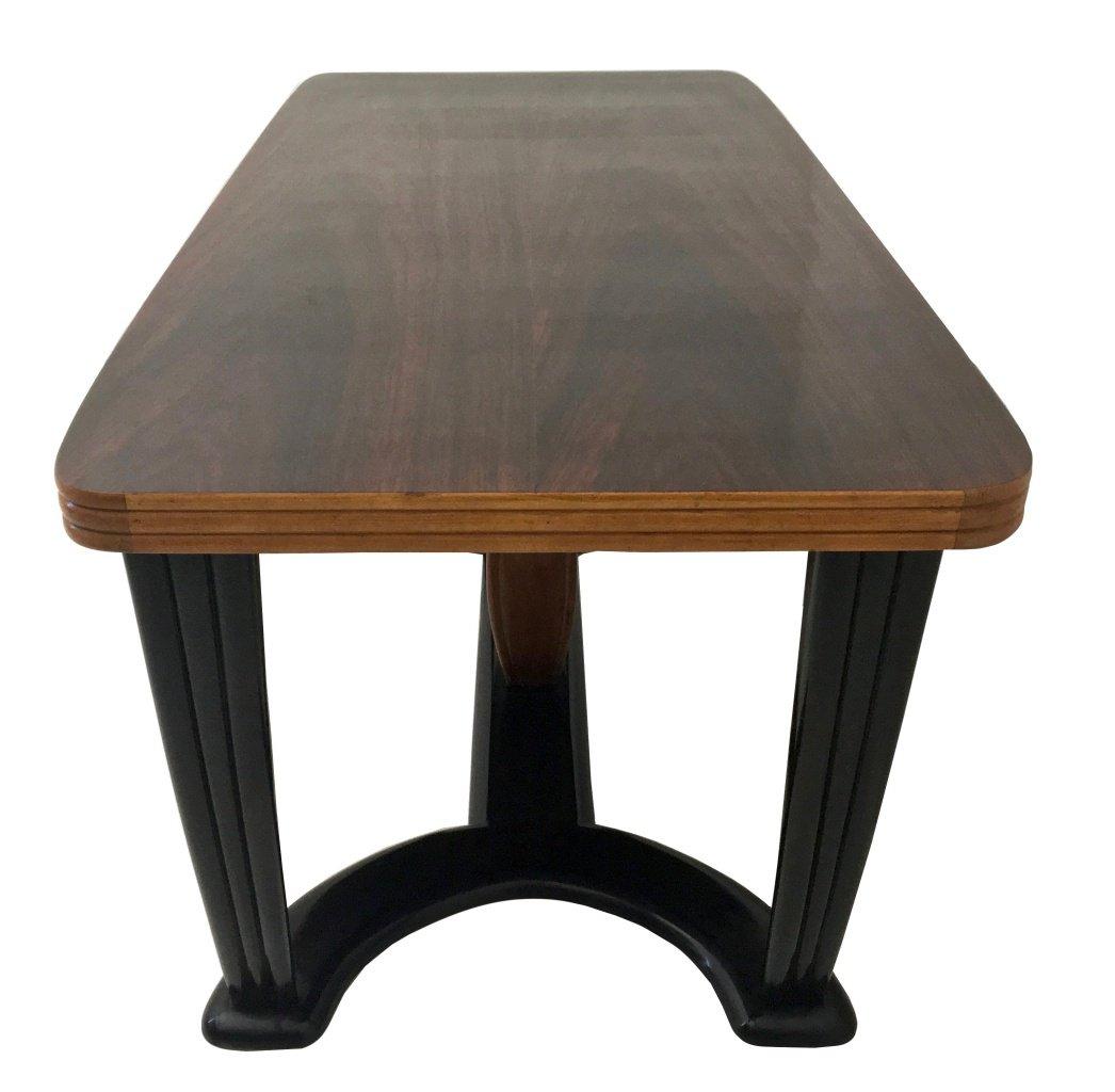 Table De Salle Manger En Acajou Et Bois Noirci Avec Plateau En  # Bois D'Acajou Noir