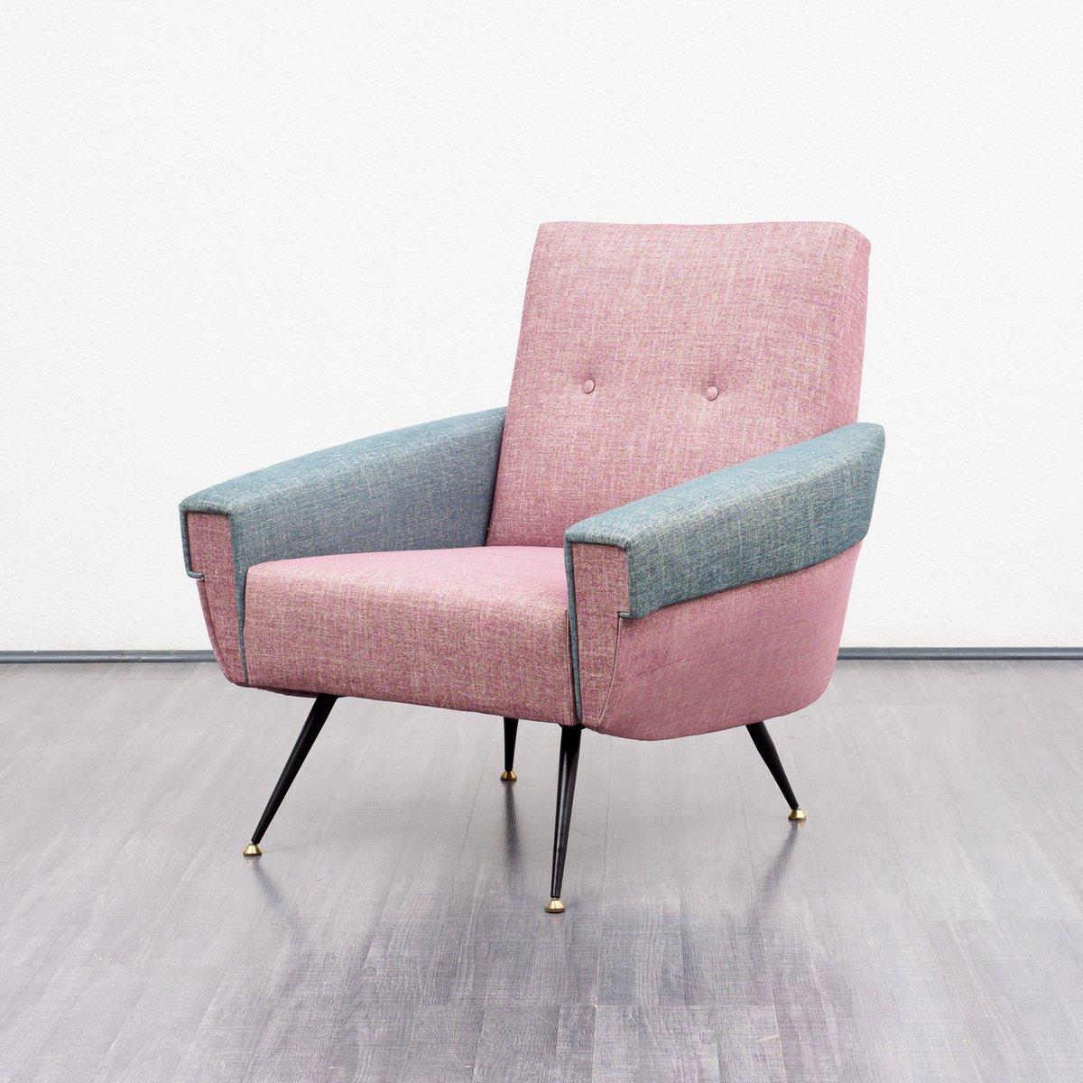 Zweifarbiger sessel 1950er bei pamono kaufen for Sessel italienisch