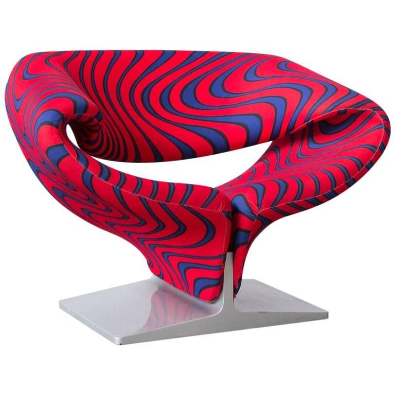 Awesome Ribbon Chair By Pierre Paulin For Artifort, 1966
