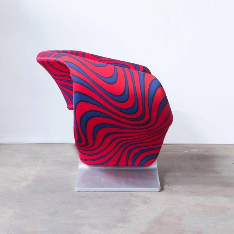 Ribbon Chair By Pierre Paulin For Artifort, 1966