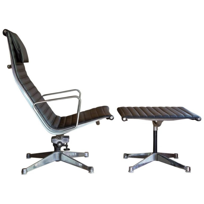 ray and charles eames furniture. chair \u0026 ottoman set by ray charles eames for herman miller, 1958 and furniture r