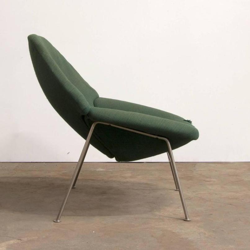 gr ner modell 555 sessel von pierre paulin 1960er bei. Black Bedroom Furniture Sets. Home Design Ideas
