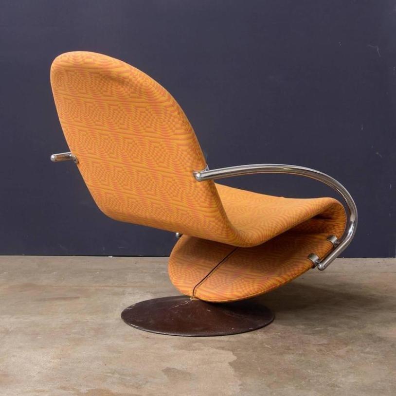 d nischer sessel von verner panton 1973 bei pamono kaufen. Black Bedroom Furniture Sets. Home Design Ideas