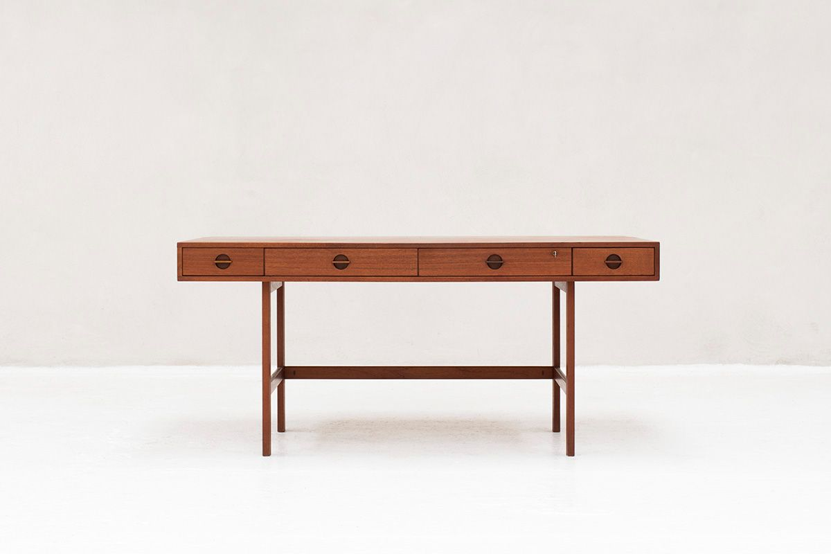 Mid Century Desk By Jens Quistgaard For Peter Løvig Nielsen 1960s At Pamono
