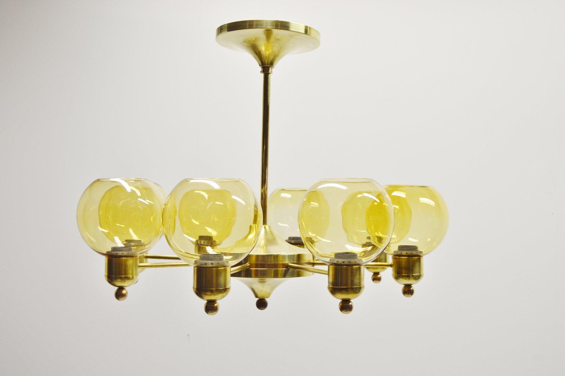messing kronleuchter 1960er 2er set bei pamono kaufen. Black Bedroom Furniture Sets. Home Design Ideas