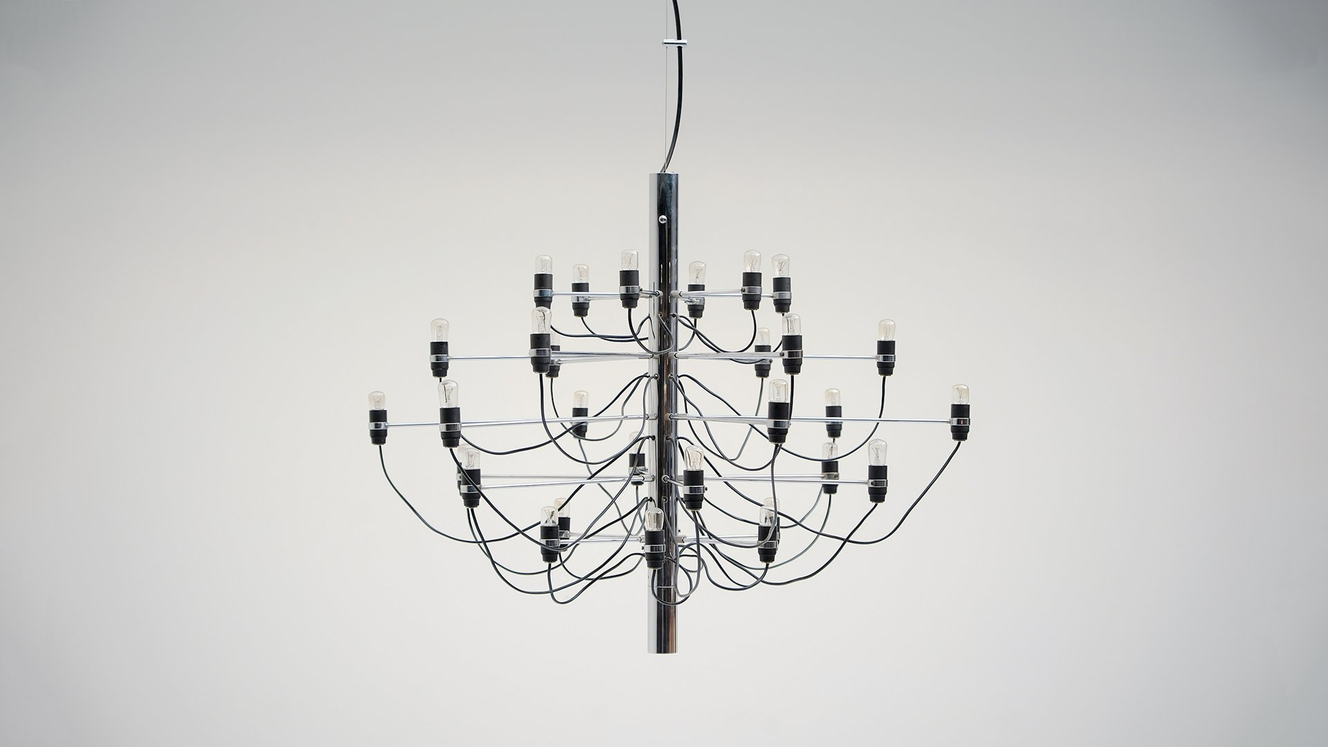 Vintage chandelier by gino sarfatti for arteluce for sale at pamono vintage chandelier by gino sarfatti for arteluce aloadofball Choice Image