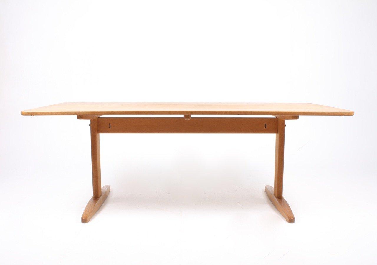 table de salle manger en ch ne massif par b rge mogensen pour c m madsen 1960s en vente sur. Black Bedroom Furniture Sets. Home Design Ideas