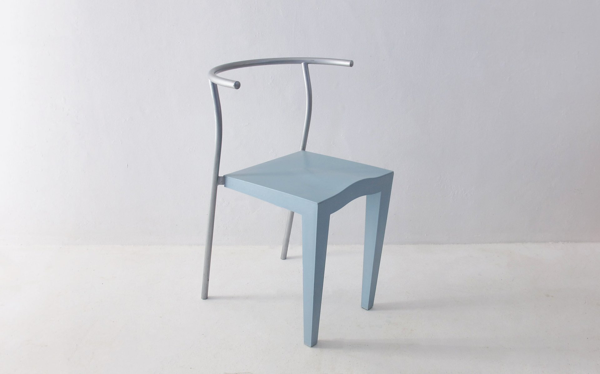 Vintage French Chairs by Philippe Starck for Kartell, 1980s, Set ...