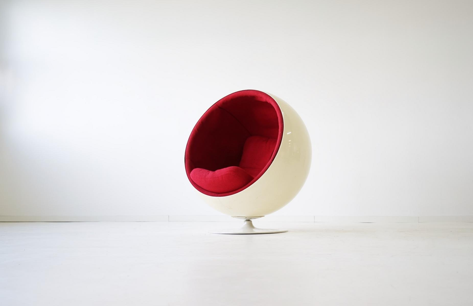 Ball Chair by Eero Aarnio for Asko, 1960s for sale at Pamono
