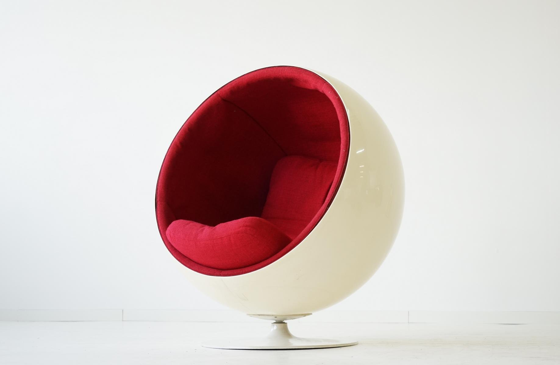 ball chair by eero aarnio for asko 1960s for sale at pamono. Black Bedroom Furniture Sets. Home Design Ideas