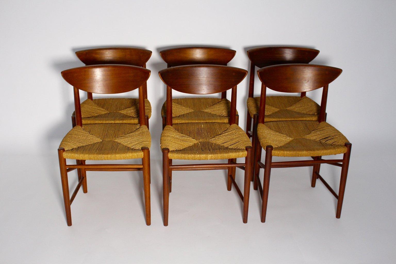 Superior Chairs By Peter Hvidt U0026 Orly Moolgard Nielsen For Søborg Møbelfabrik,  1960s, Set Of 6