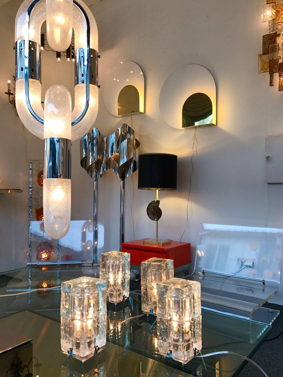 italienische lampen von poliarte 1970er 2er set bei. Black Bedroom Furniture Sets. Home Design Ideas