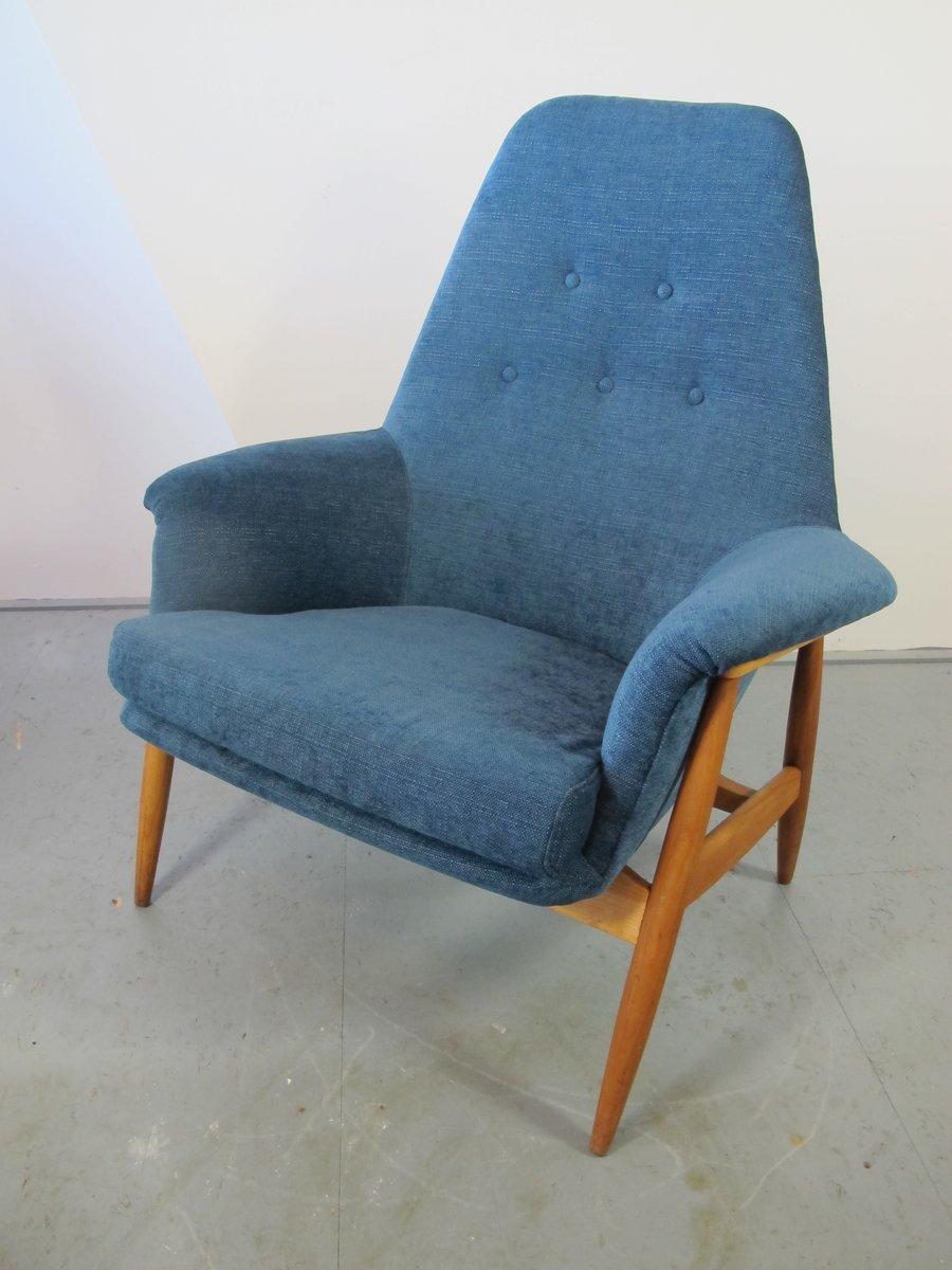 vintage teak sessel 1950er bei pamono kaufen. Black Bedroom Furniture Sets. Home Design Ideas