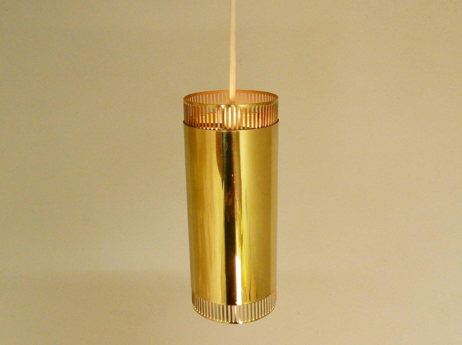 Scandinavian brass pendant lights 1960s set of 3 for sale at pamono scandinavian brass pendant lights 1960s set of 3 aloadofball Image collections