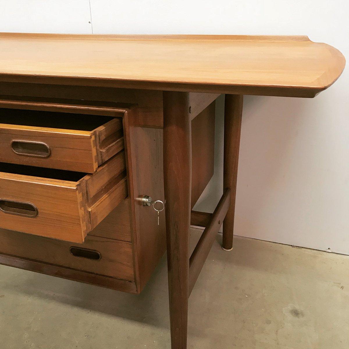 D nischer schreibtisch von finn juhl 1950er bei pamono kaufen for Schreibtisch 2 50 meter