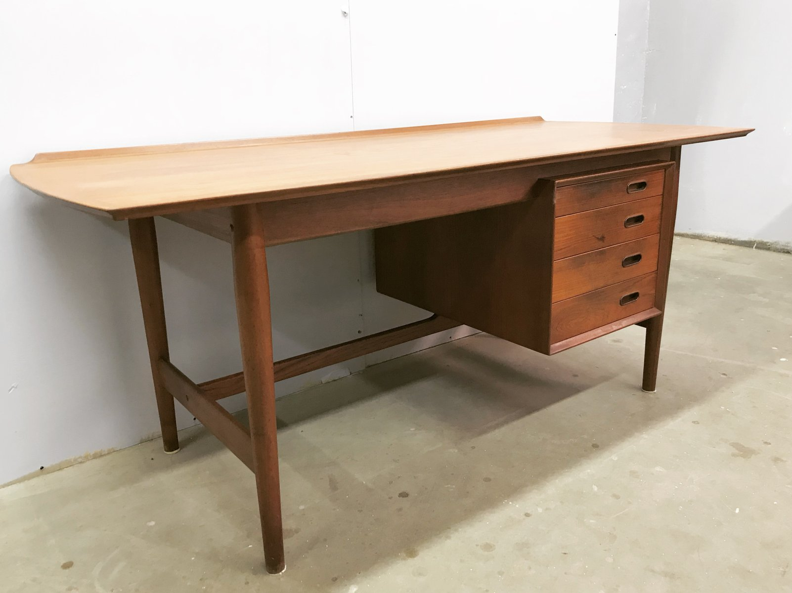 tables writing stylish sleek case modern harry by ostergaard listings designed furniture teak pieces desk danish desks