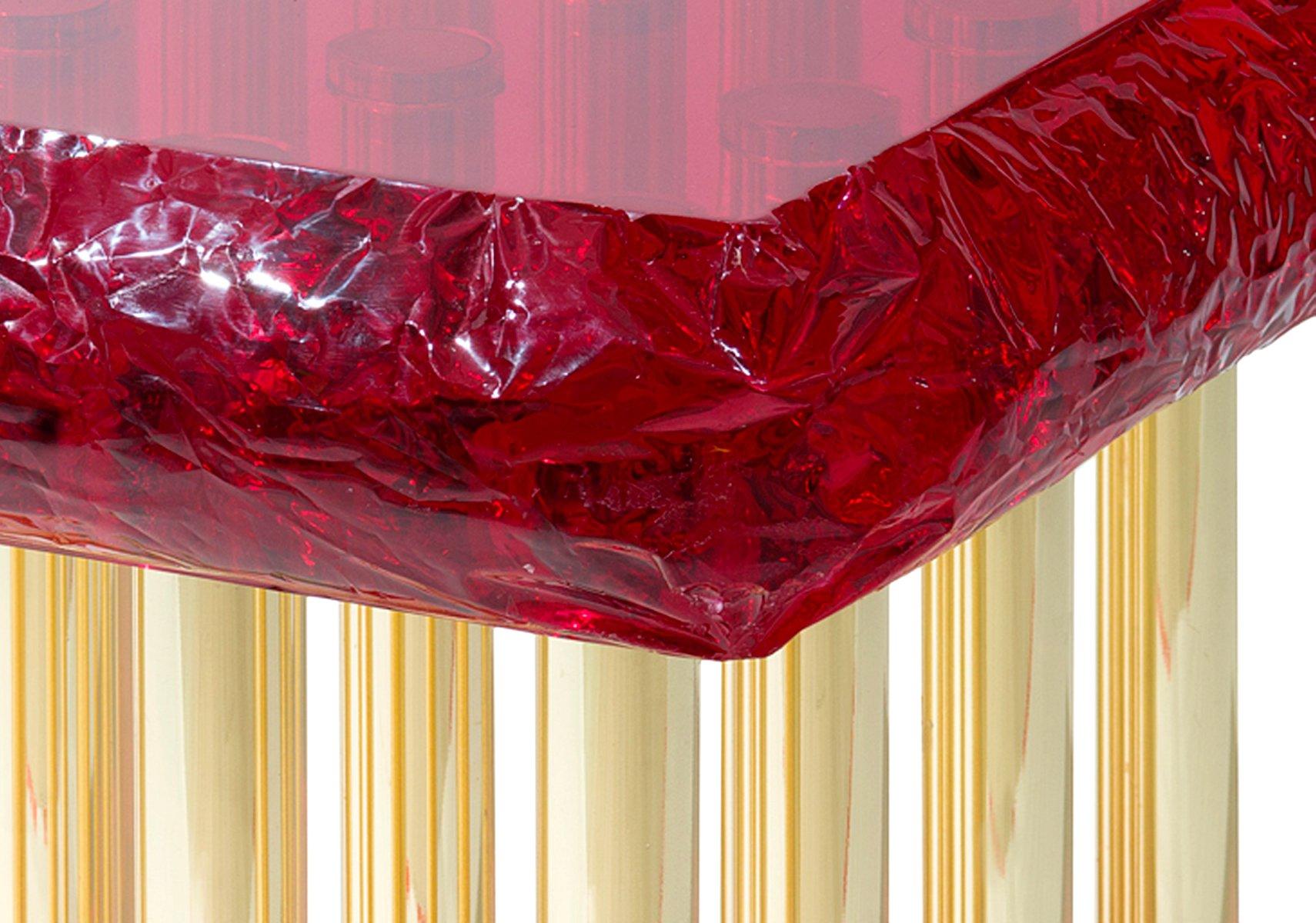 Mou couchtisch in rot von studio superego bei pamono kaufen for Couchtisch rot