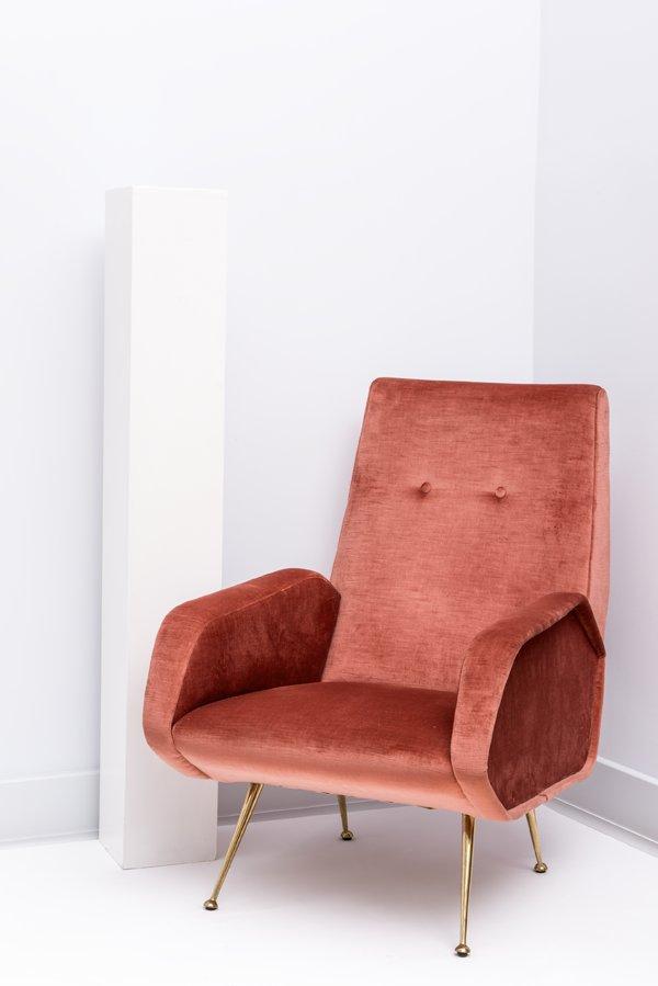 Italienisches sofa und 2 sessel 1950er bei pamono kaufen for Sessel italienisches design