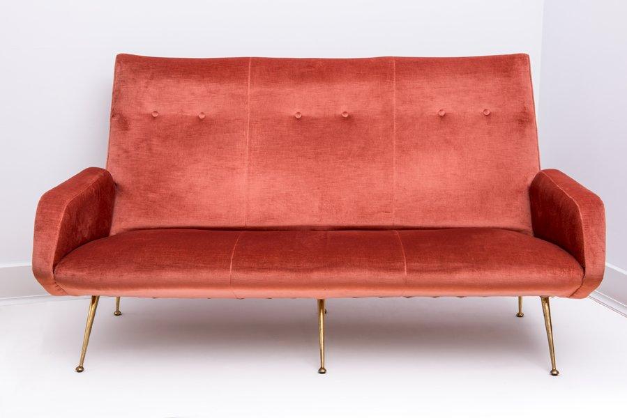 Italienisches sofa und 2 sessel 1950er bei pamono kaufen for Sessel und couch