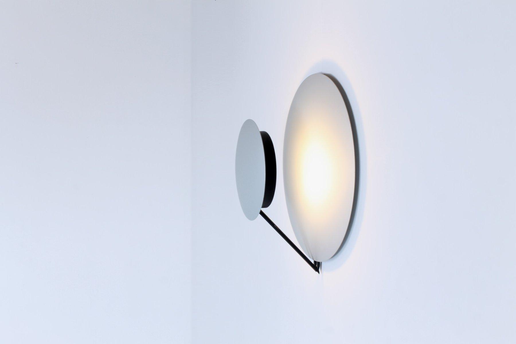 italian aluminium vega sconces by cesaro amico for tre. Black Bedroom Furniture Sets. Home Design Ideas